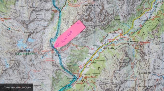 Deel 1 Van De Tweede Alternatieve Etappe Van De Stubaier Höhenweg