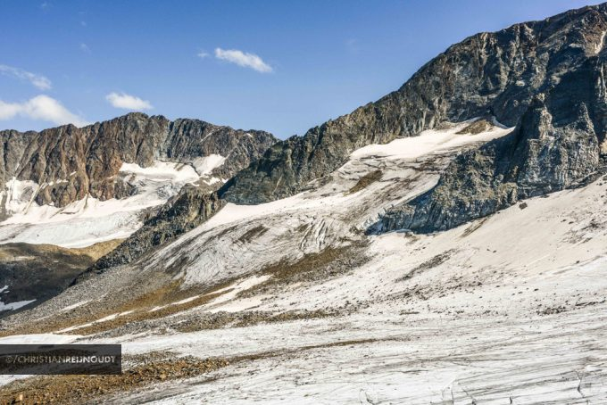 Gletsjer Vanaf Station Eisgarten