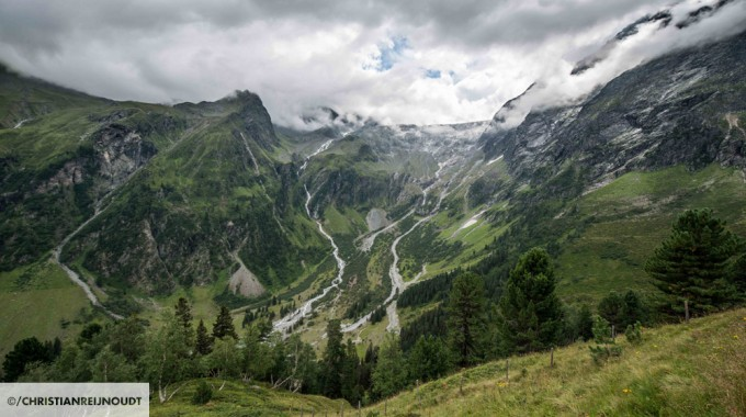 De Gletscher Bij Lüsens