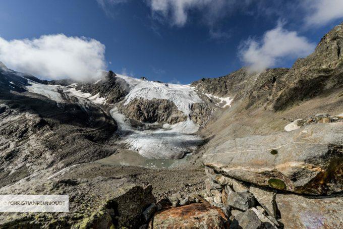 Prachtige Sulzenau Gletsjer Vanaf Beiljoch