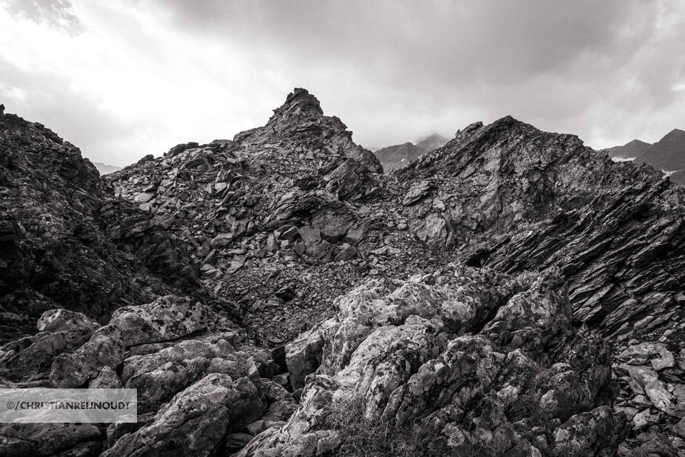 Indrukwekkende rotsen