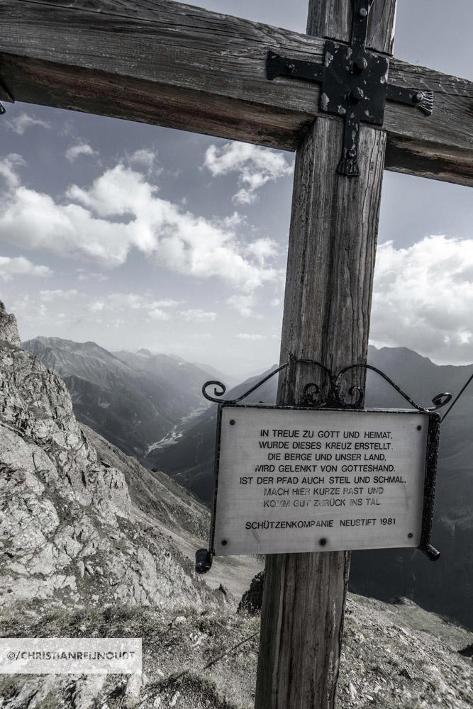 Kruis op de Mairspitze