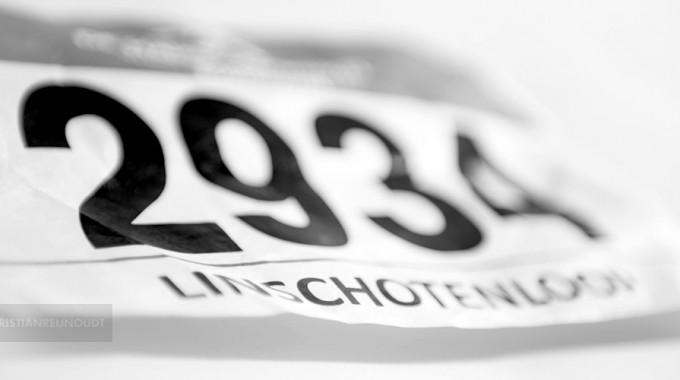 Het Rugnummer Van De 10 Kilometer Linschotenloop