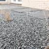 Grassen En Grind In Moderne Tuin