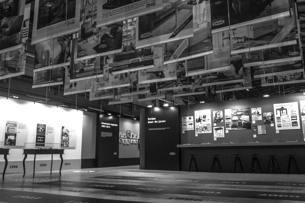 Presentatie van alle 35 Nederlandse covers van de IKEA catalogus