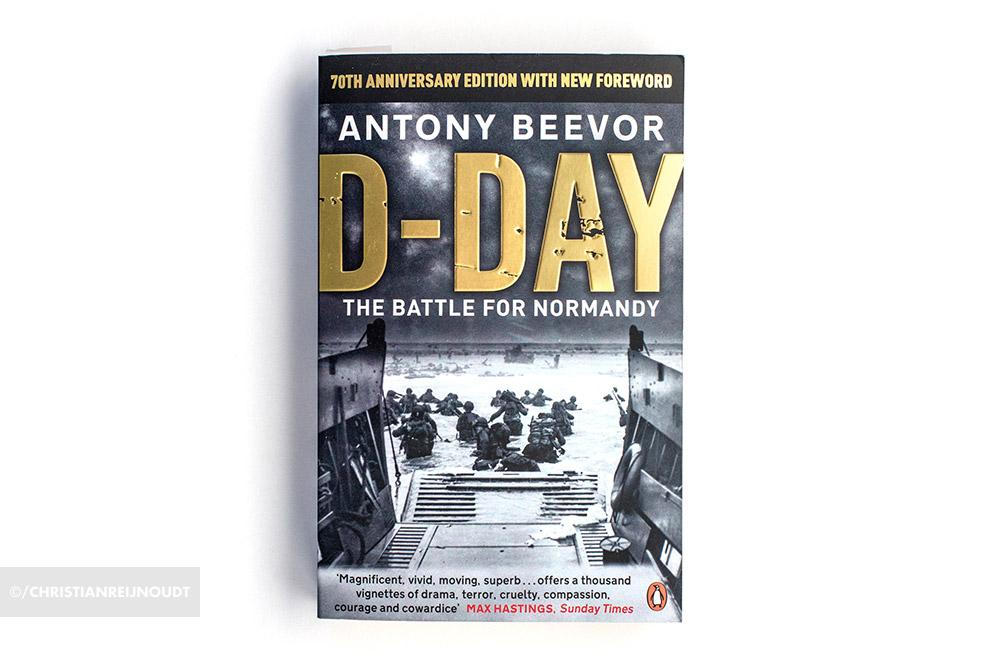 Boek 'D-Day' geschreven door de auteur Antony Beevor