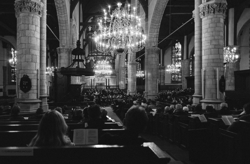 Cantatedienst in de Sint Jan in Gouda