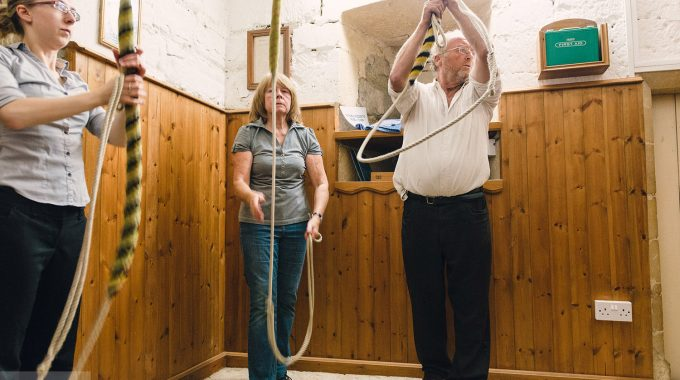 Bell Ringing At St Andrew's, Whitminster