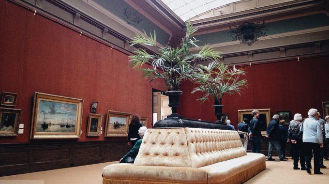 Tentoonstellingszaal In Het Teylers Museum