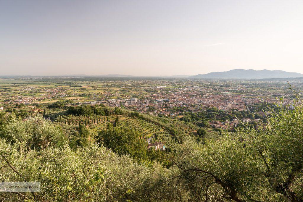 Uitzicht over Toscane